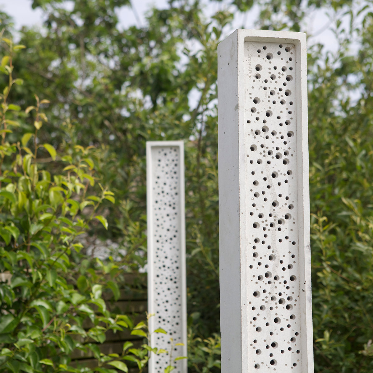 beeposts used in landscaping project