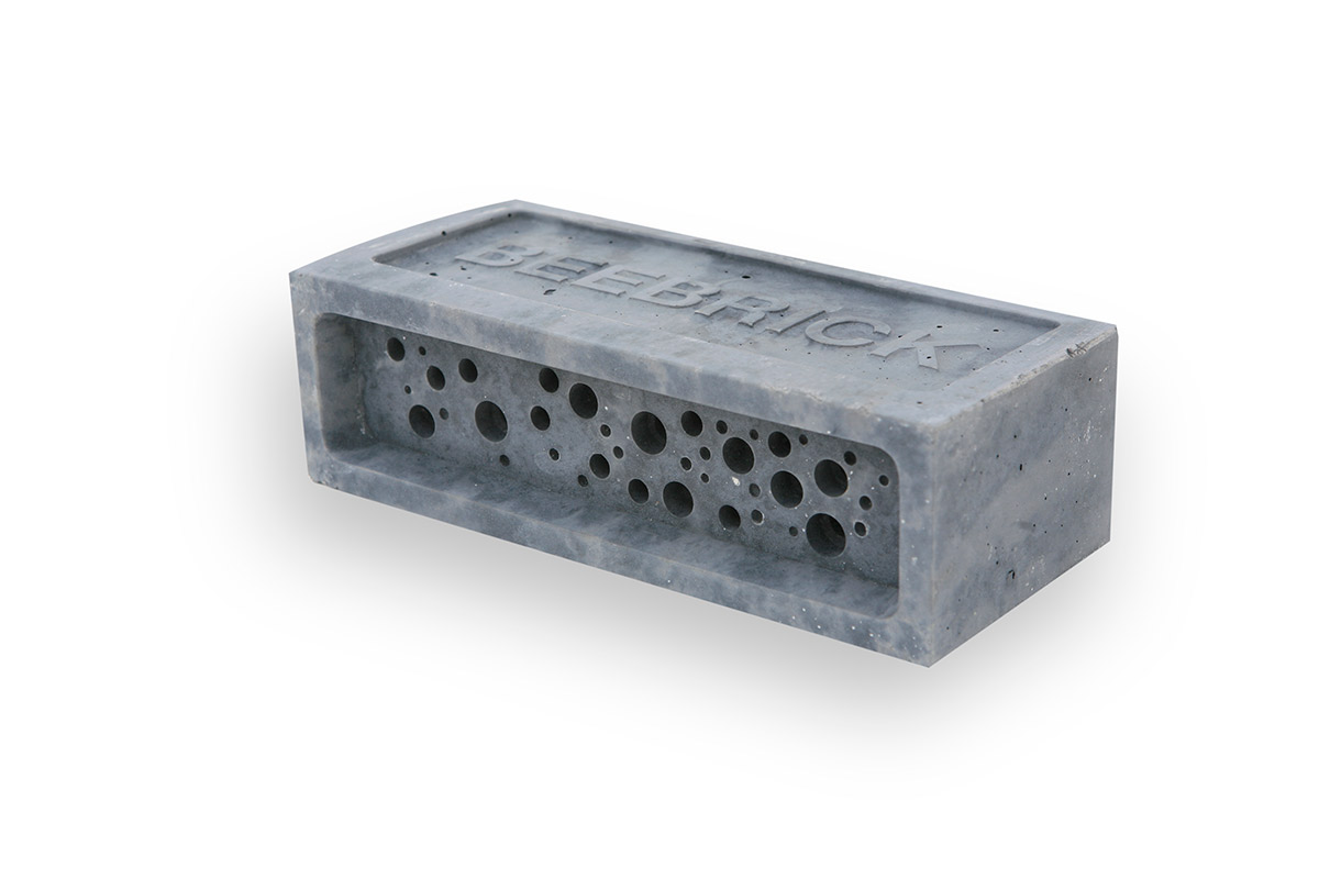 charcoal bee brick by Green&Blue