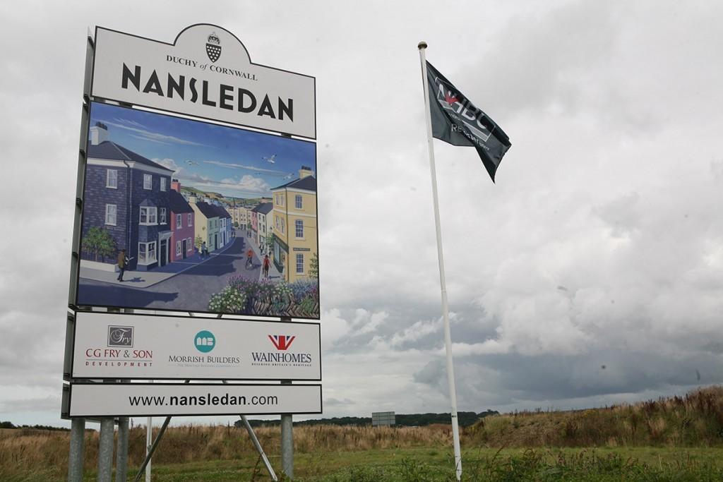 Duchy Nansledan development at Newquay